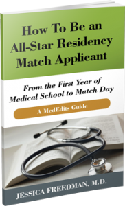 How To Be an All-Star Residency Match Applicant